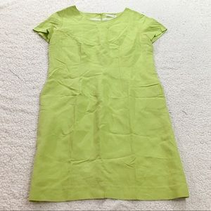 Guy laroche pistachio green shift dress